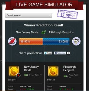 Sports Prediction Software Tool